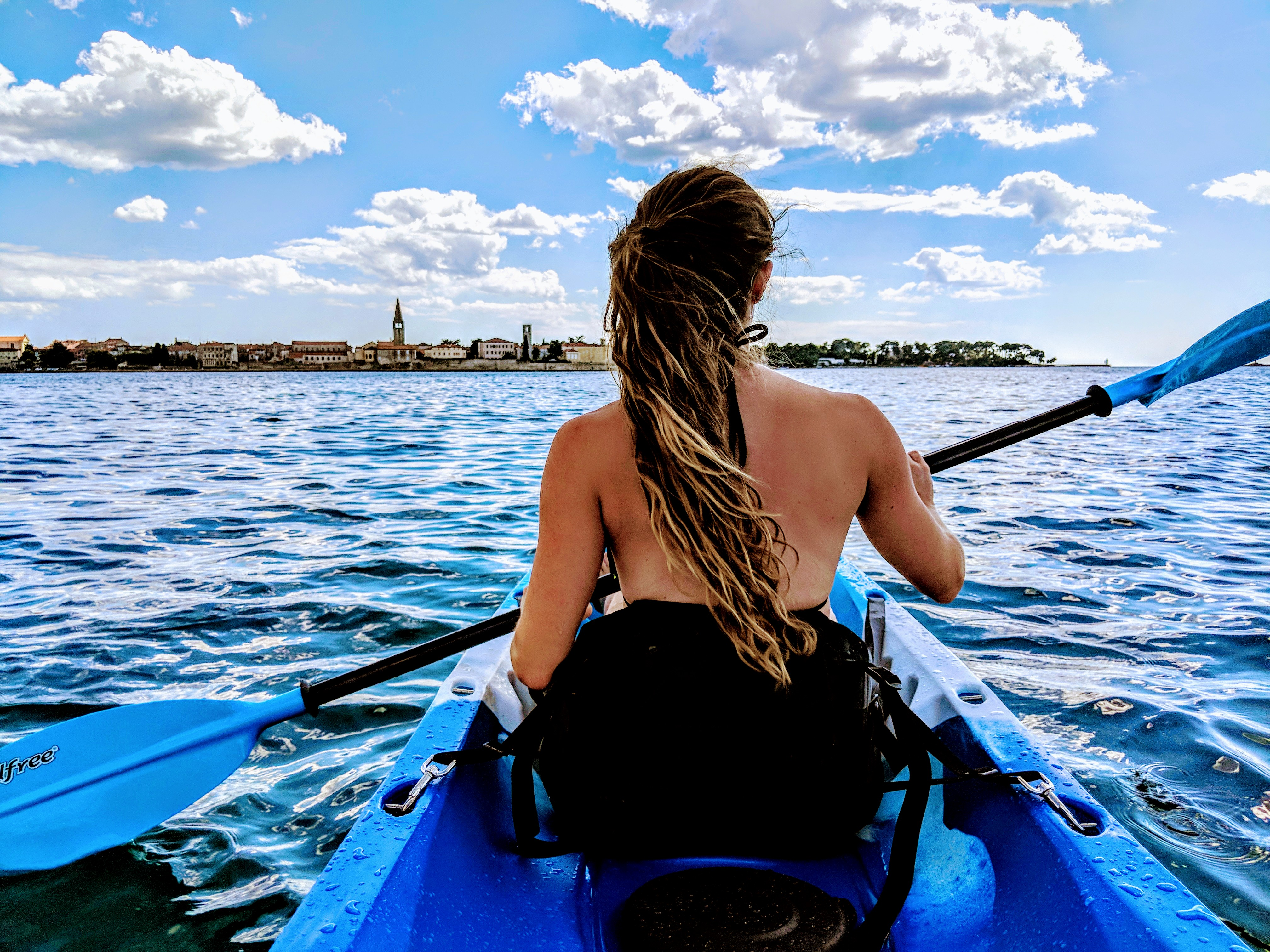 Sea Kayaking Porec Islands